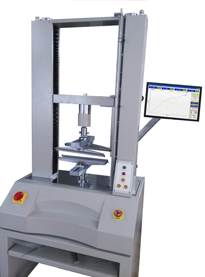 Glass 3 4 Points Bending Test Electronic Universal Testing Machine With High Intelligence